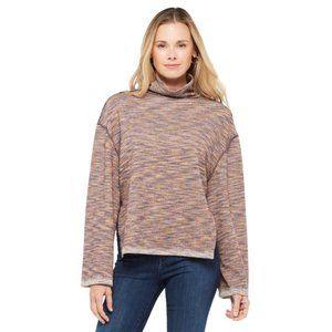 NEW Free People Sunny Days Turtleneck Sweater